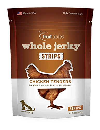 Fruitables Whole Jerky Strips Chicken Tenders Dog Treats