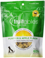 Fruitables Pumpkin & Apple Crunchy Dog Treats, 7oz