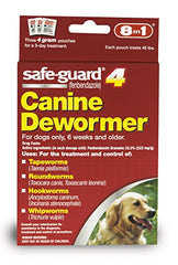 Safe Guard Canine Dewormer for Large Dogs, 4-Gram
