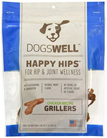 Dogswell Happy Hips Chicken Grillers Dogswell Dog Treat, 5oz