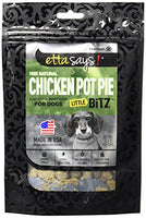 Etta Says! Little Bitz Chicken Pot Pie Dog Treats, 5.5oz