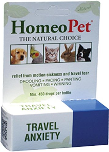 HomeoPet Travel Anxiety Pet Relief