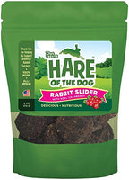 Hare of the Dog Rabbit Slider with Cranberry Dog Treats - 6oz.
