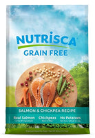 Nutrisca Salmon & Chickpea Grain Free Dog Food, 28lb.
