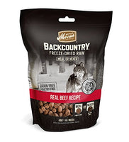 Merrick Backcountry Freeze-Dried Raw Meal or MixerBeef Grain Free Dog Food