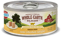 Whole Earth Farms Grain Free Chicken Cat Food, 24 Pack