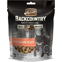Merrick Backcountry Freeze-Dried Raw Meal Mixer Grain Free Salmon Cat Food, 4oz
