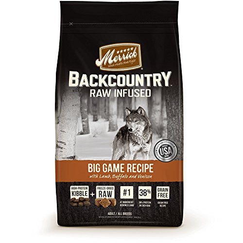 Merrick 1 Count Backcountry Big Game Recipe, 4 lb