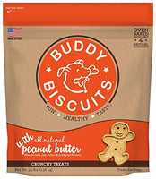 Buddy Biscuits Buddy Biscuits Original Oven Baked Treats with Peanut Butter - 3.5 lb.