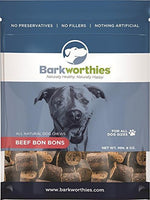 Barkworthies Beef Bon Bons Dog Treats, 8oz.