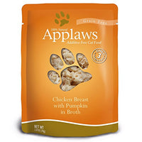 Applaws Chicken & Pumpkin Cat Food 12 Pack of 2.47oz Pouches