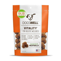 Dogswell Vitality Chicken Meatballs, 15 oz.