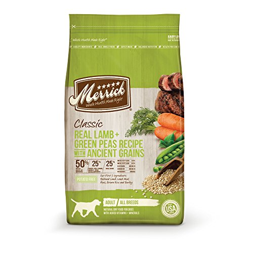 Merrick Classic Lamb & Green Peas Dog Food - Various Sizes Available