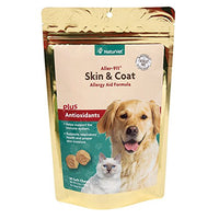 NaturVet Aller-911 Skin & Coat Plus Allergy Aid for Pets, 90ct. Soft Chews