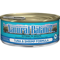 Natural Balance Tuna with Shrimp Cat Food, 24 Pack