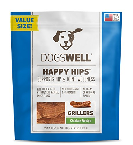 Dogswell Happy Hips Dog Treats, Chicken Flavor, 25oz