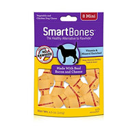 SmartBones Mini Bacon & Cheese Chew Bone Dog Treats
