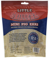 Little Grillerz Mini Pig Ears, Small Breed Pack