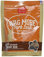 Cloud Star Wag More Bark Less Soft & Chewy Duck Dog Treats, 6oz.