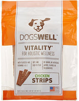 Dogswell Vitality Chicken Strips Dog Treat, 5oz