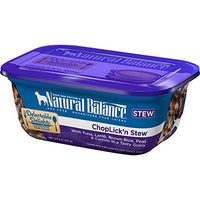 Natural Balance Delectable Delights ChopLick'n Stew Dog Food, 12 Pack