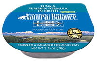 Natural Balance Limited Ingredient Diets Tuna & Pumpkin Cat Food - 24 Pack