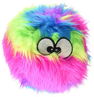 goDog Furballz Rainbow Plush Dog Toy