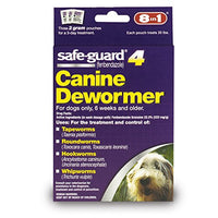 8 In 1 Safe Guard Canine Dewormer for Medium Dogs, 2-Gram