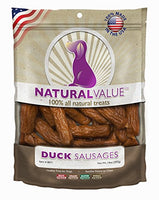 Loving Pets Duck Sausage Dog Treats