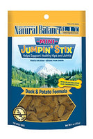Natural Balance Mini Jumpin' Stix Duck & Potato Dog Treats, 4oz.
