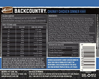 Merrick Backcountry Grain Free Chunky Chicken Dog Food, 12.7oz. 12 Pack