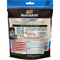 Merrick Backcountry Hero's Banquet Grain Free Dog Treats, 6oz