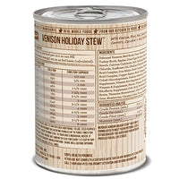 Merrick Grain-Free Venison Holiday Stew Canned Dog Food, 13.2oz. 12 Pack