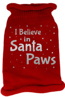 Mirage - Knit Santa Paws Christmas Dog Sweater - Red