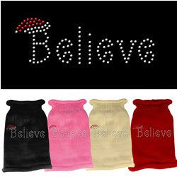 Mirage - Believe Rhinestone Knit Pet Sweaters