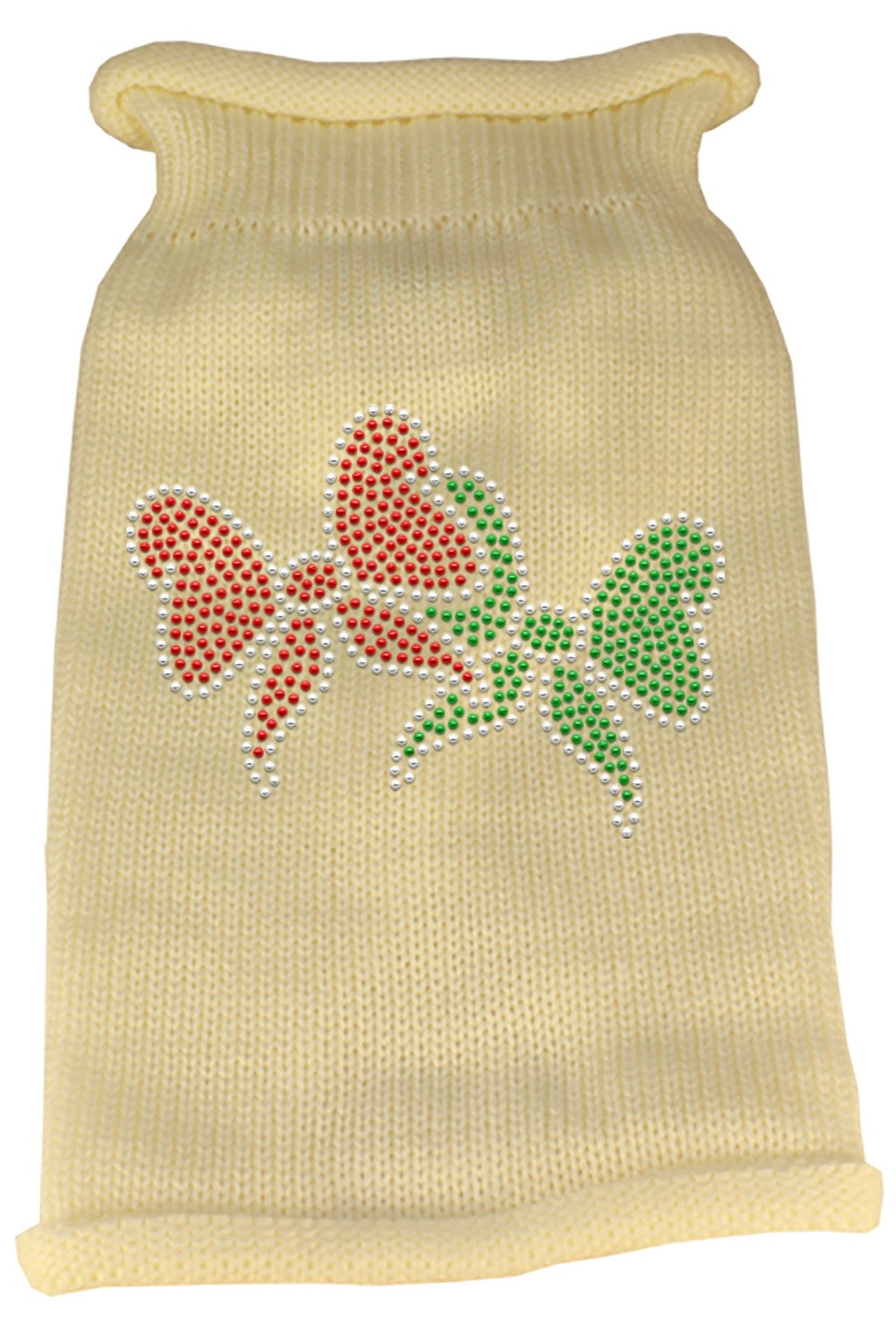 Mirage - Christmas Bows Pet Sweaters - Cream