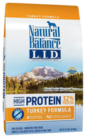Natural Balance Limited Ingredient Grain Free High Protein Turkey Dog Food