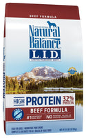 Natural Balance Limited Ingredient Grain Free High Protein Beef Dog Food