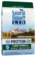 Natural Balance Limited Ingredient Grain Free High Protein Lamb Dog Food