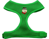 Mirage - Frosty Soft Mesh Chistmas Dog Harness - Emerald Green