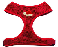 Mirage - Santa Hat Chipper Christmas Dog Harness - Red