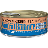 Natural Balance Limited Ingredient Salmon & Green Pea Cat Food, 24 Pack