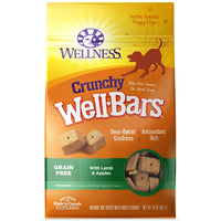 Wellness Crunchy WellBars Lamb & Apples Grain Free Dog Treats