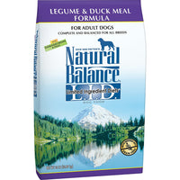 Natural Balance Limited Ingredient Legume & Duck Grain Free Dog Food