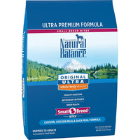 Natural Balance Small Breed Bites Chicken, Chicken Meal, Duck Meal Dog Food