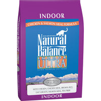 Natural Balance Indoor Ultra Chicken Meal & Salmon Meal Cat Food