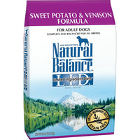 Natural Balance Limited Ingredient Sweet Potato & Venison Dog Food