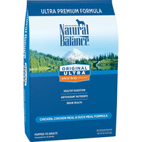 Natural Balance Original Ultra Chicken, Chicken Meal, Duck Meal Dog Food