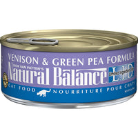 Natural Balance Limited Ingredient Venison & Green Pea Cat Food - 24 Pack