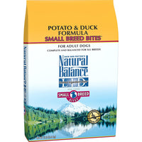 Natural Balance Small Breed Bites Limited Ingredient Potato & Duck Dog Food